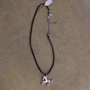 Lia sophia horse giddy necklace - NWT